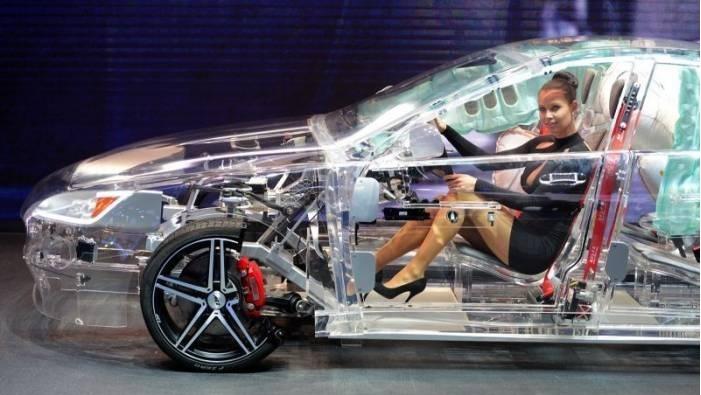 transparent acrylic car 2
